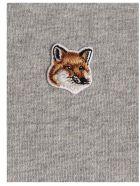 Maison Kitsuné 'fox Head' Sweatshirt - Grey