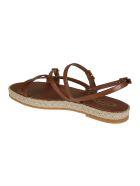 Tod's Raffia Sole Sandals - Cuoio