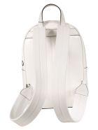 Burberry Logo Printed Backpack - White/Black