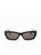 Alaia AA0043S Sunglasses - Black Black Grey