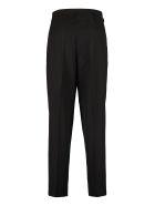 Maison Kitsuné Virgin Wool Blend Trousers - black