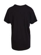 Alessandro Enriquez 'spaghetti Print' Cotton T-shirt - Black
