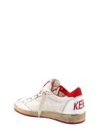Golden Goose Ball Star Sneakers - Red