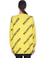 Balenciaga Knitwear In Yellow Cotton - yellow