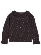 Emile Et Ida Jonquille Floral Cotton Shirt - Brown