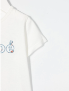 Chloé Logo-embroidered T-shirt - Bianco sporco