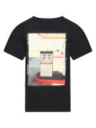 Zadig & Voltaire Black T-shirt For Kids With Print - Black