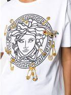 Versace T-shirt - White/black