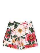 Dolce & Gabbana Cotton Shorts - CAMELIE ROSA F.ACQUA