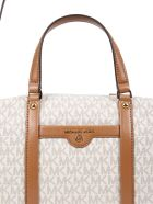 MICHAEL Michael Kors Medium Beck Handbag - BIANCO