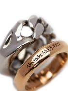 Alexander McQueen Chain Ring - Silver
