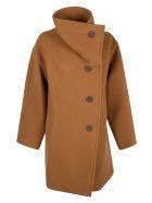 Acne Studios Wrap Coat - Brown
