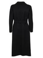 Max Mara Black Wool Coat - Black
