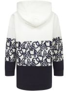 Moncler Enfant Sweatshirt - White