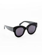 Alaia AA0028S Sunglasses - Black Black Grey