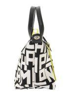 Longchamp Le Pliage Lgp - Top Handle Bag Xs - Black/white