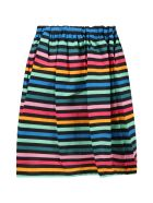 Sonia Rykiel Multicolor Skirt For Girl - Multicolor