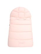 Moncler Pink Sleeping-bag For Baby Girl With Logo - Pink