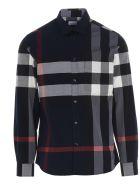 Burberry 'somerton' Shirt - Blue