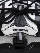 Balenciaga Fabric Sneakerhead Top Handle Crossbody Bag - White/black