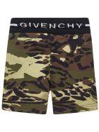 Givenchy Kids Shorts - Kaki