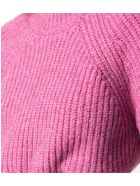 Isabel Marant Pink Cotton-yak Blend Jumper - Fuxia