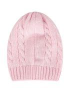 Little Bear Pink Hat For Baby Girl - Fuchsia