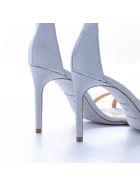 Giannico Giannico Leather Sandal - SILVER