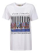 Alessandro Enriquez White Cotton T-shirt - White