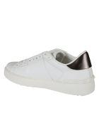 Valentino Garavani Sneakers Open Vltn - Bianco Nero Dark Rutenio Bianco