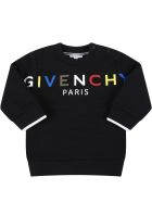 Givenchy Black Sweatshirt For Baby Kids With Logo - Black