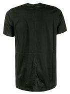 Rick Owens Side Zip Pocket Detail T-shirt - Black