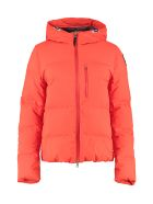 Parajumpers Kanya Hooded Short Down Jacket - Orange