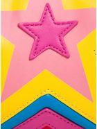 Stella McCartney Kids Star Crossbody Bag In Alter Mat - Red