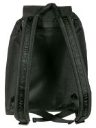 Versace Jeans Couture Logo Print Backpack - Black