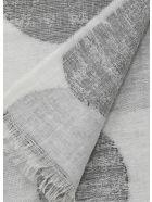 Kangra Linen Polka Dots Scarf - GREY