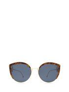 Fendi Fendi Ff 0290/s Gold Sunglasses - Gold