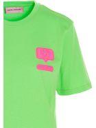 Chiara Ferragni 'eyelike' T-shirt - Green