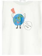 Balenciaga 'love Earth' T-shirt - White
