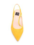 Islo 'gloss' Leather Sandals - Ocra Yellow