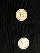 Balmain Black Flared Trousers - Noir