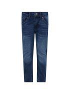 Levi's Blue ''510'' Jeans For Boy - Denim