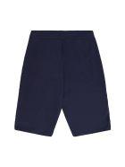 Emporio Armani Stretch Cotton Two Piece Suit - blue