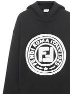 Fendi Kids Sweatshirt - Black