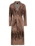 Canessa Tie-waist Cardi-coat - Savannah