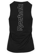 Reebok x Victoria Beckham Logo-print Low-impact Tank Top - BLACK