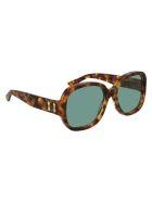 Gucci GG0989S Sunglasses - Havana Havana Green