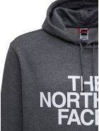 The North Face Grey Cotton Hoodie With Logo Print - Grey