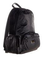 Dolce & Gabbana Dolce&gabbana Nero Sicilia Dna Nylon Backpack - BLACK