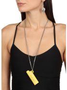 AMBUSH Lighter Case Necklace - YELLOW SIL